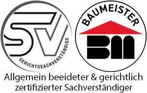 Sachverständiger/Baumeister - Logo