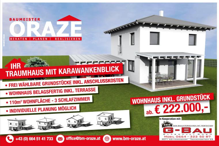 Rendering - Traumhaus mit Karawankenblick